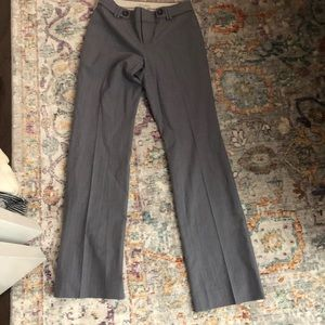 Slim fit flared work trousers